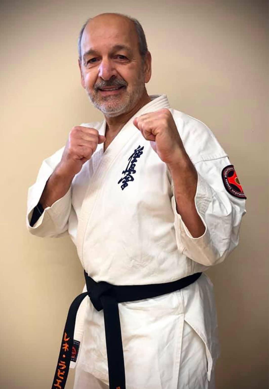 Karate Soyuma Senpai Nidan